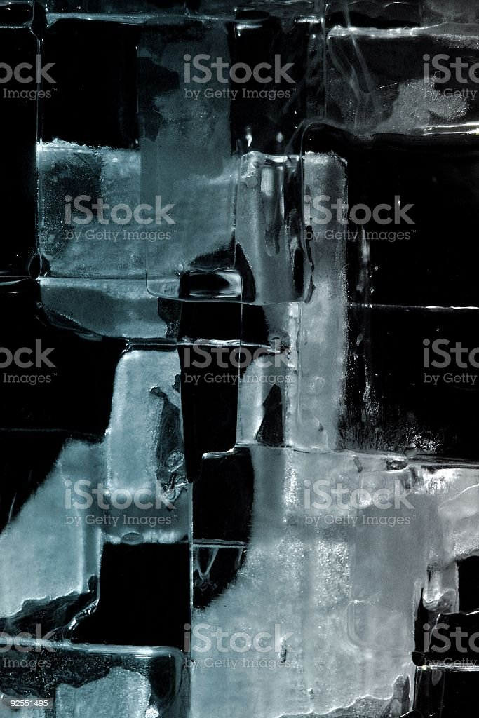 Ice Pattern background (standing) royalty-free stock photo