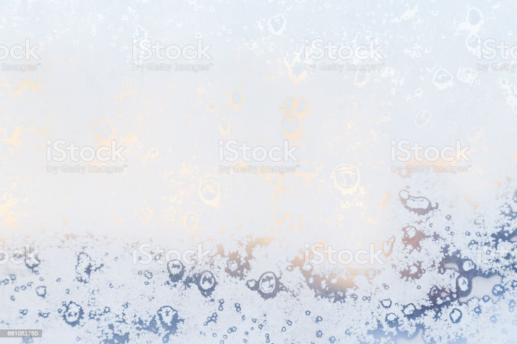 Ice pattern on window, winter background. Texture. royalty-free stock photo