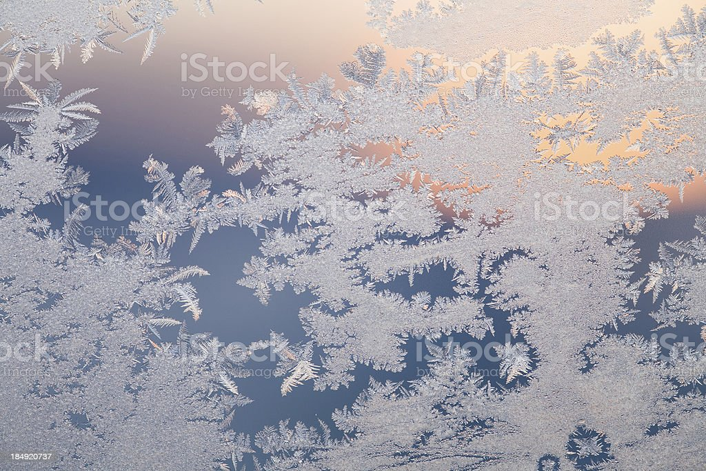 Ice pattern royalty-free stock photo