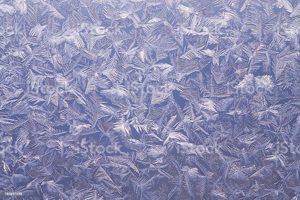 Ice pattern stock photo