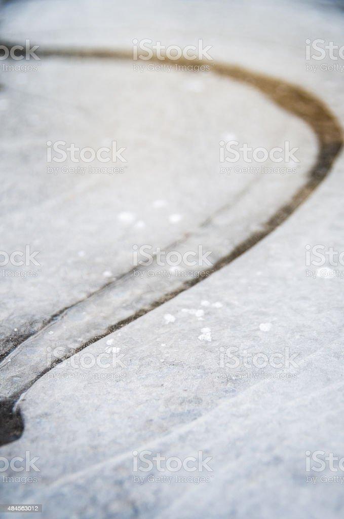 Ice pattern. stock photo