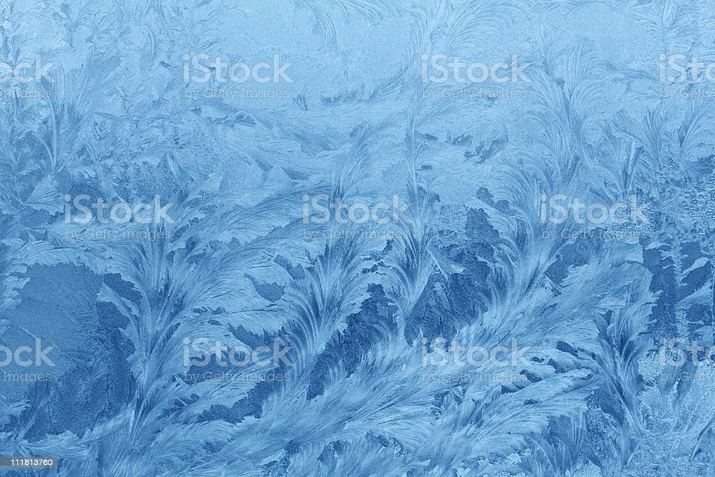 ice patterns royalty-free stock photo