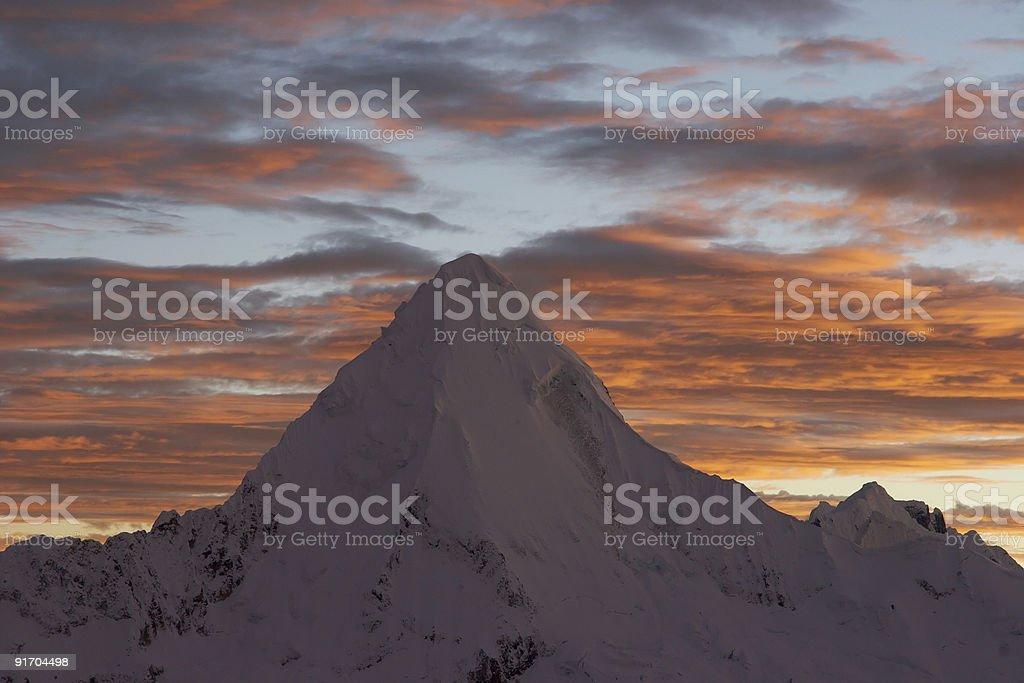 Ice piramide royalty-free stock photo