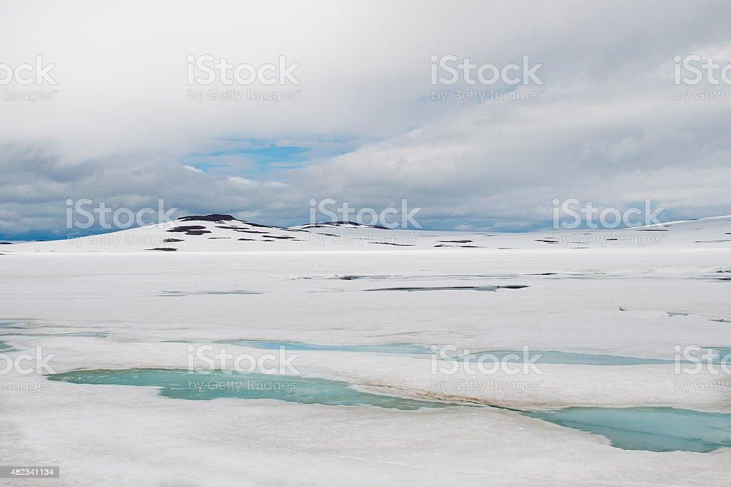 Ice plain en Islande - Photo