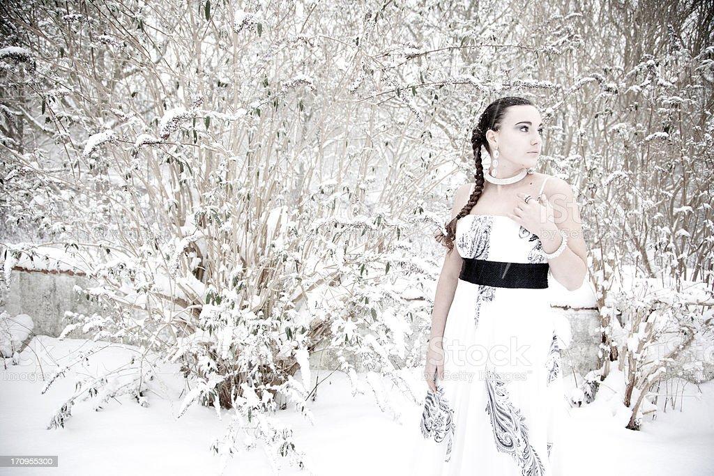Ice Princess royalty-free stock photo