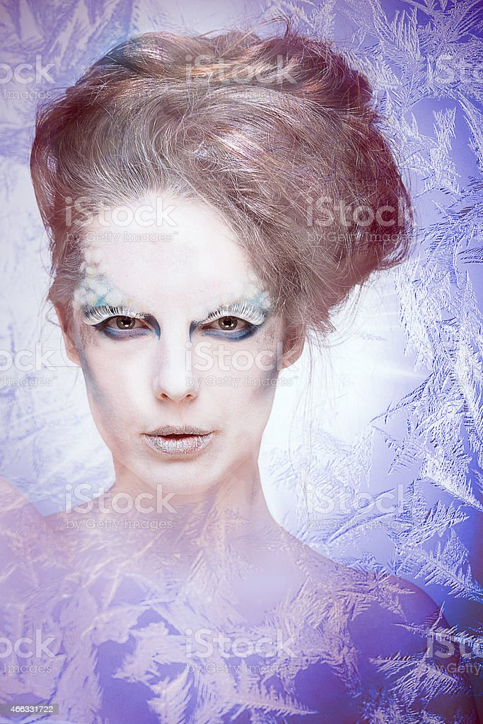 Ice Queen stock photo