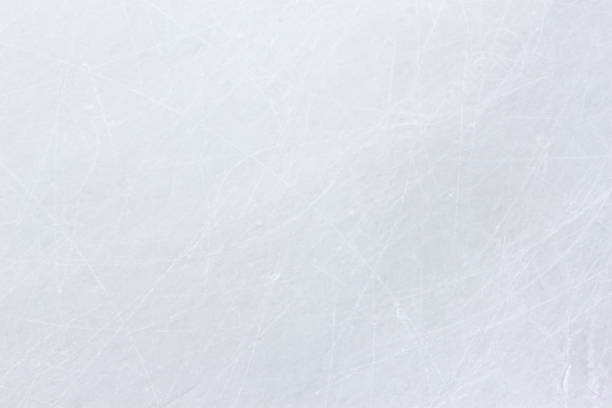 ice rink floor surface background and texture in winter time, ice hockey sport ground ice rink floor surface background and texture in winter time, ice hockey sport ground ice rink stock pictures, royalty-free photos & images