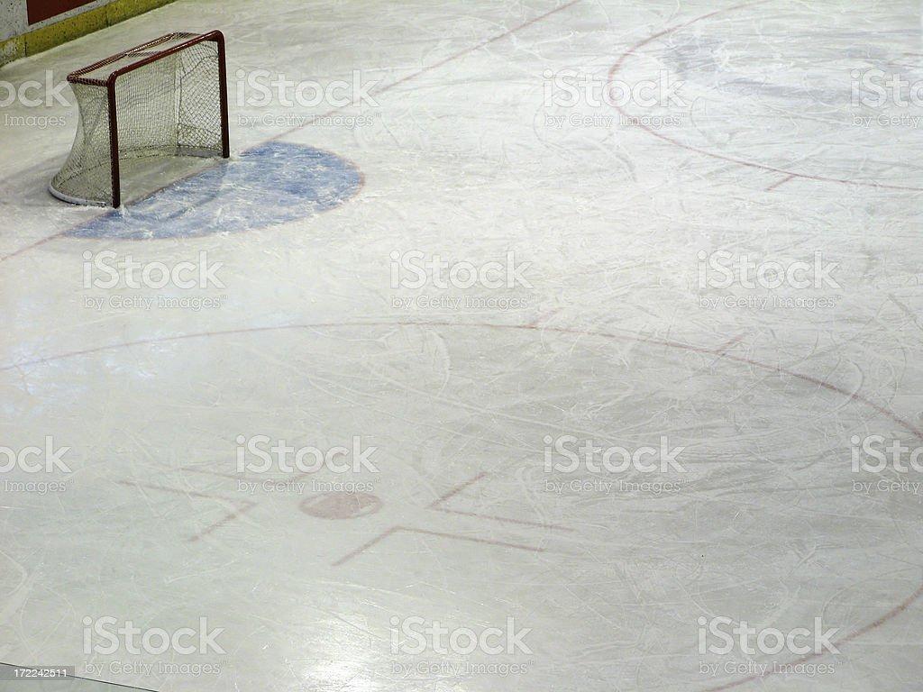 ice rink royalty-free stock photo