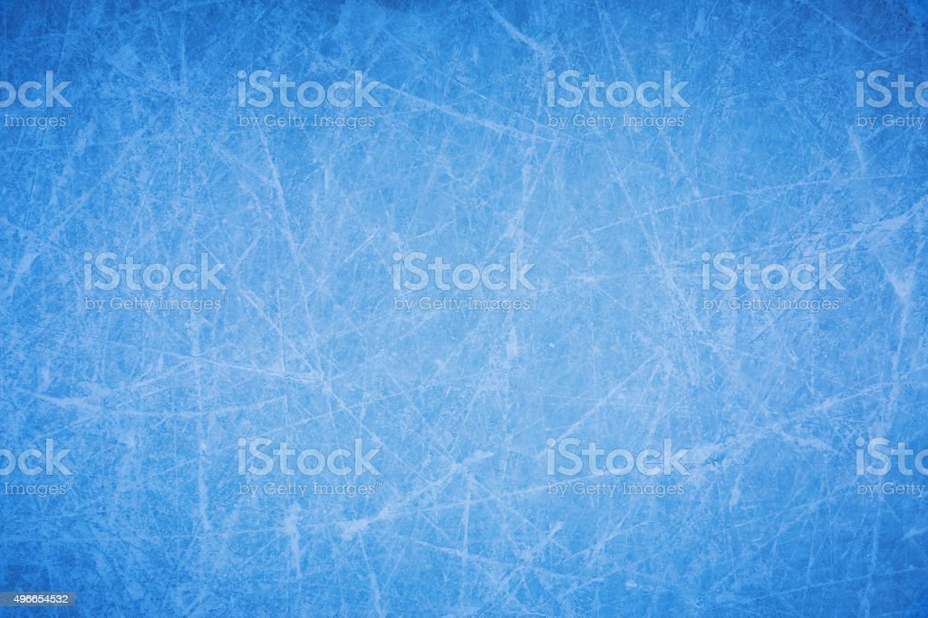 Ice rink texture stock photo