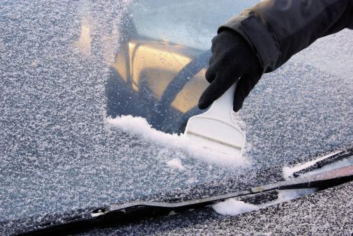 Ice Abschaben Stockfoto und mehr Bilder von Auto