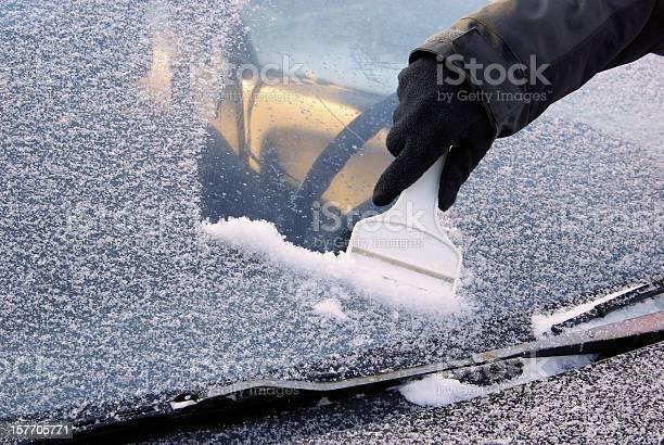 Ice Abschaben Stockfoto und mehr Bilder von Kratzen