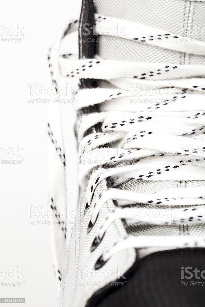Ice skate - close up royalty-free stock photo
