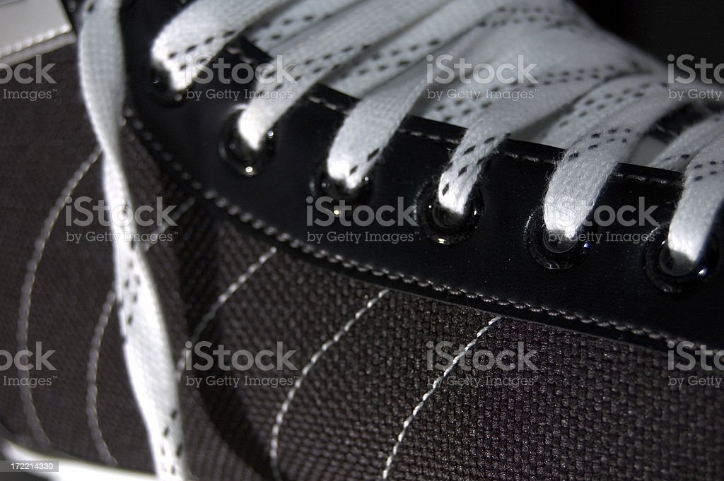 Ice Skate Close-up royalty-free stock photo