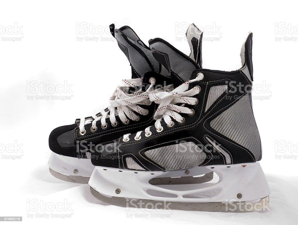ice skate, patin hockey pro royalty-free stock photo