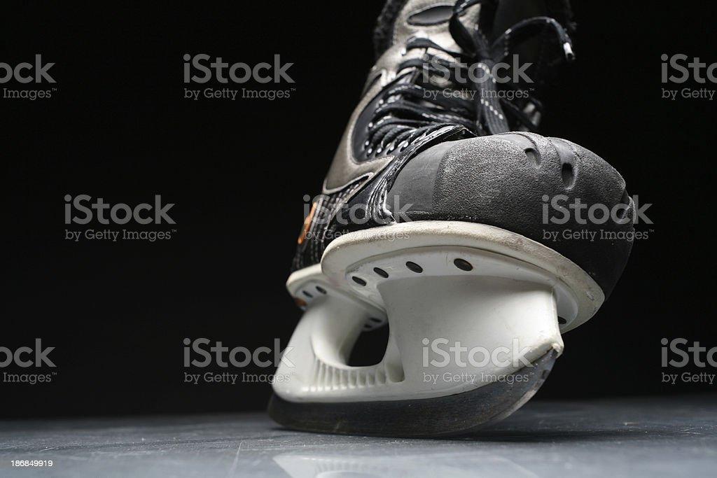 Ice skate royalty-free stock photo