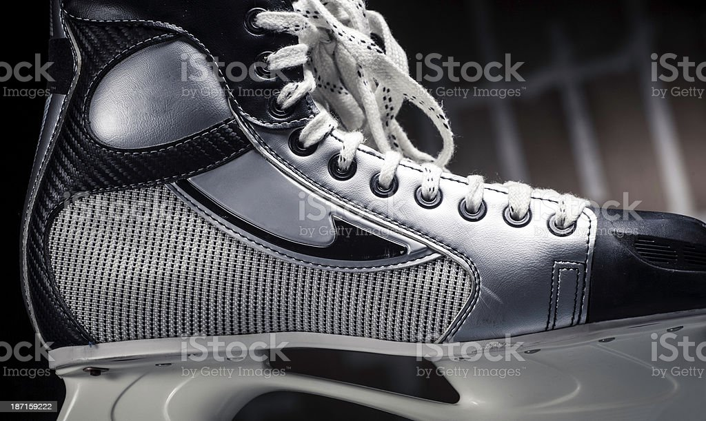 Ice skate royalty-free stock photo