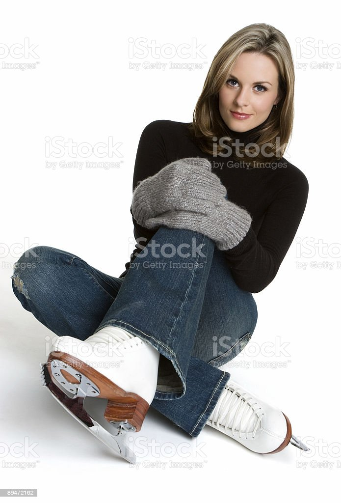 Ice skater royalty-free stock photo