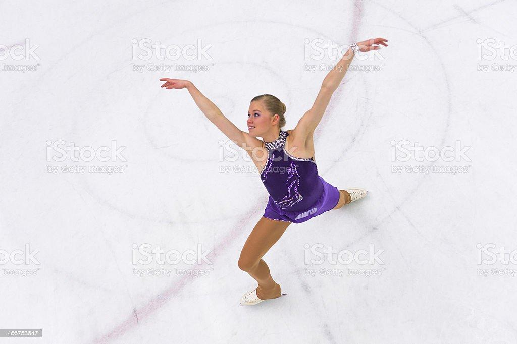 Ice Skating Performance stock photo
