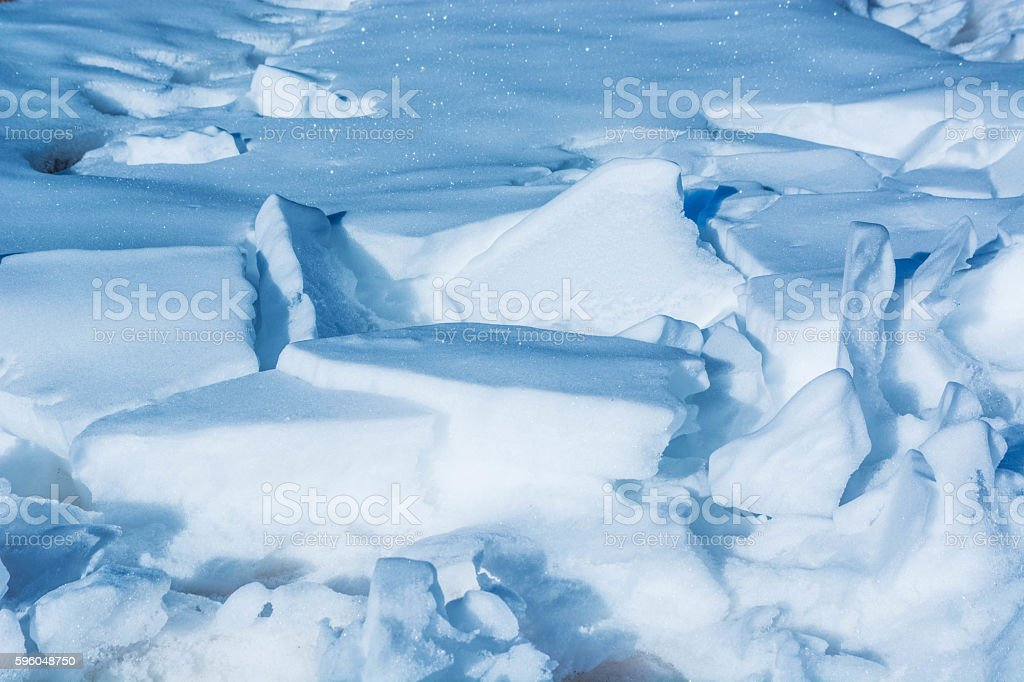 Ice snow royalty-free stock photo
