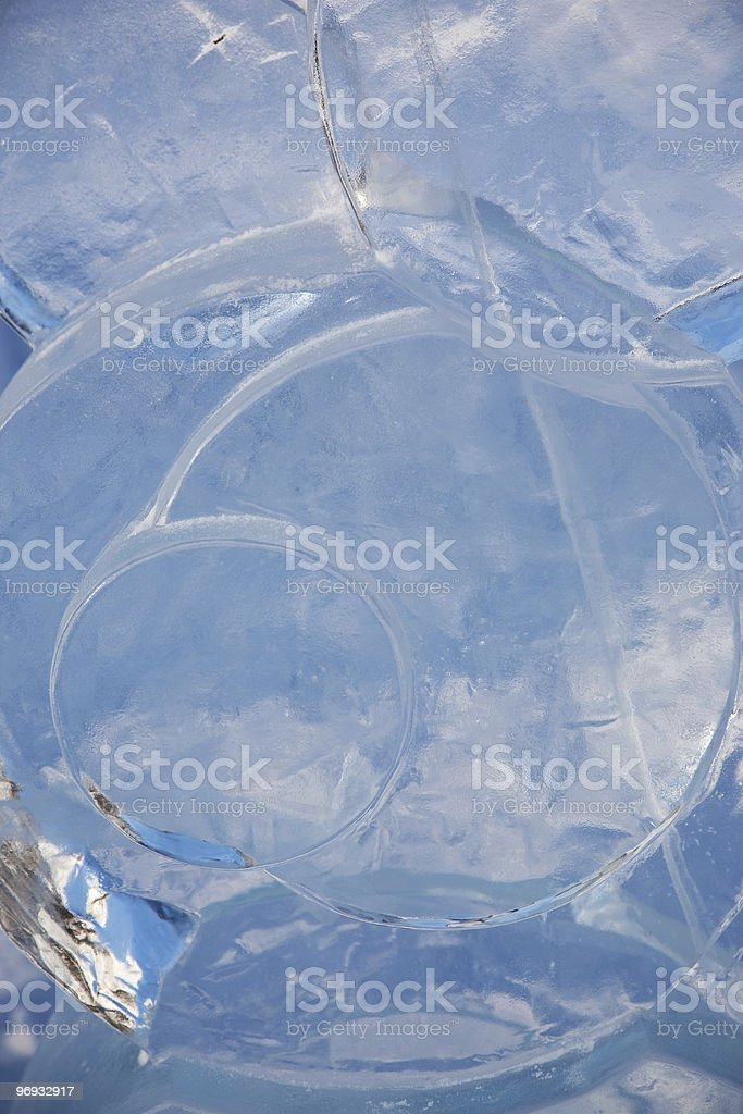 Ice statue royalty-free stock photo