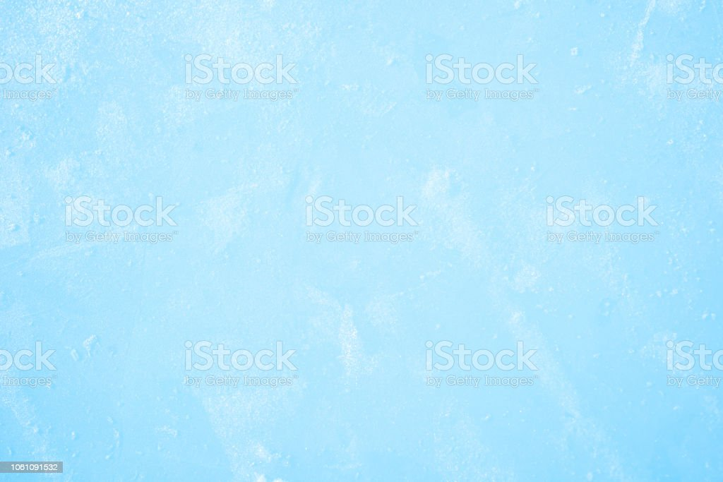 Ice surface as a winter background stock photo