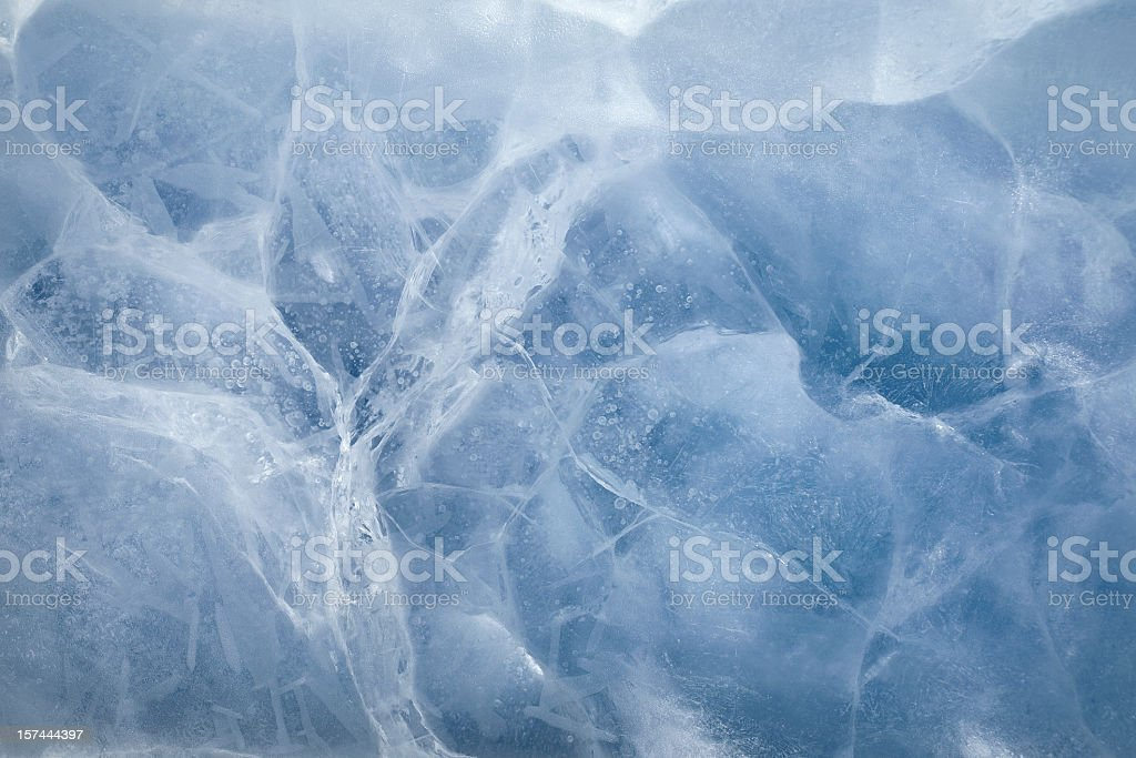 ice surface stock photo