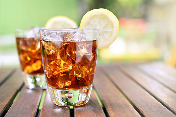 ice chá - tea drinks - fotografias e filmes do acervo
