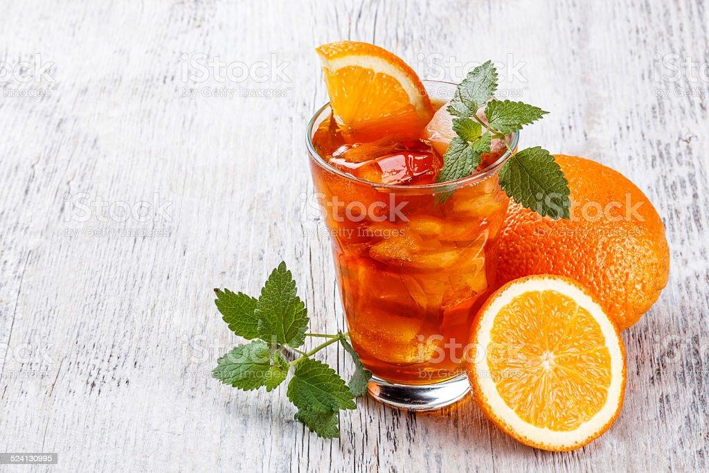 Ice tea - Royalty-free Citrus Fruit Stock Photo