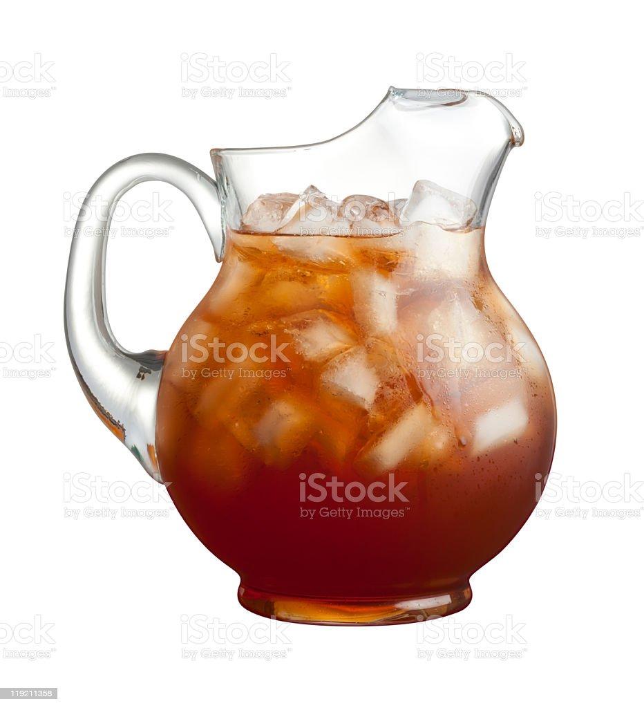 Ice Tea Pitcher stock photo