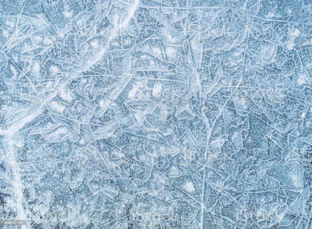 Eis-Textur, Hintergrund – Foto