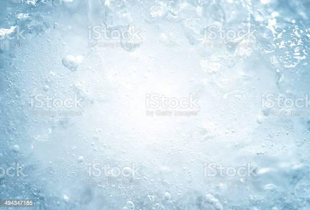 Photo of ice texture