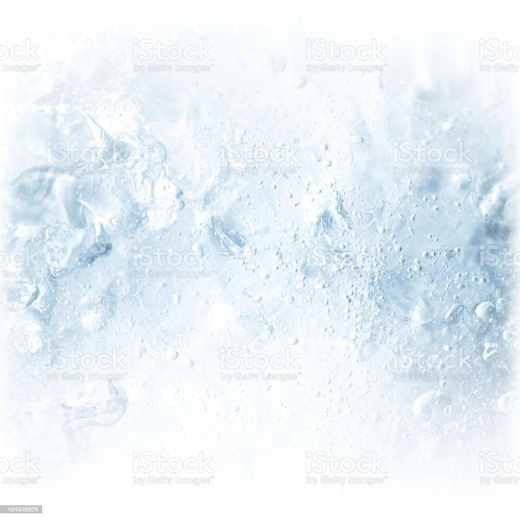 Eis-Struktur – Foto