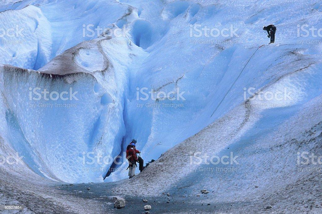 Ice Walk royalty-free stock photo