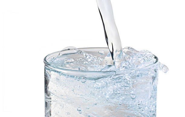 Ice Water stock photo