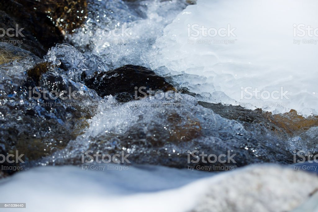Ice & water - Royalty-free Beauty In Nature Stock Photo