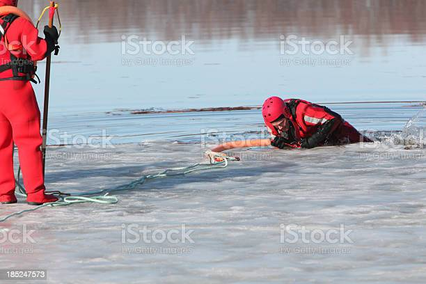 Photo of Ice water rescuers