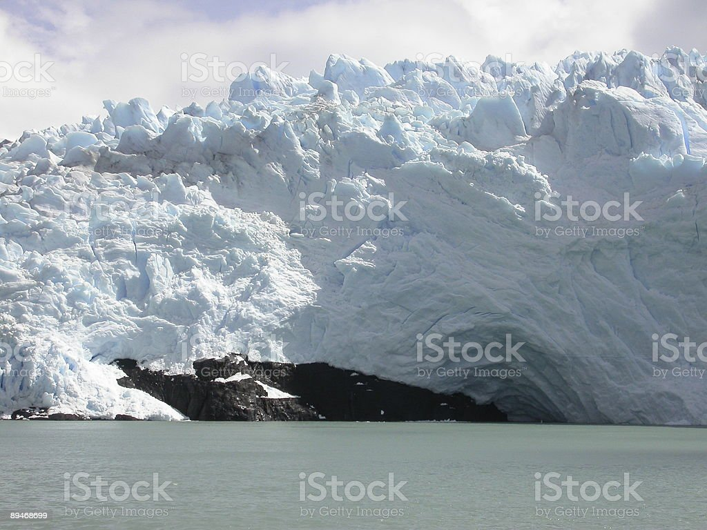 Iceberg Ahead royalty-free stock photo
