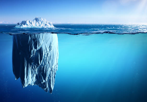 Cтоковое фото Iceberg - Appearance And Global Warming Concept