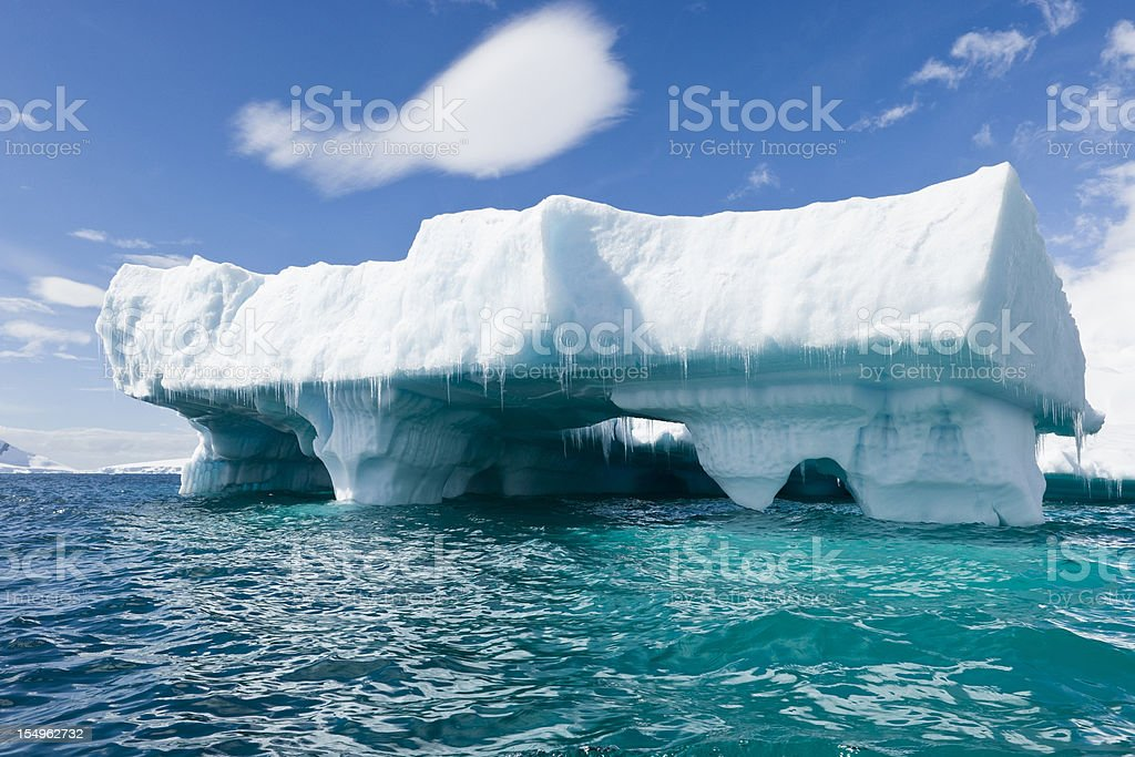 Iceberg Architecture royalty-free stock photo