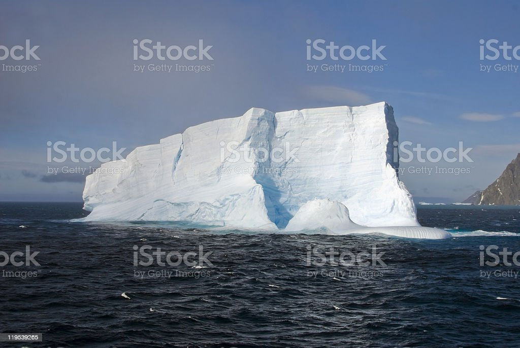 Iceberg at South Georgia royalty-free stock photo