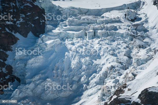 Iceberg Avalanche Stock Photo - Download Image Now