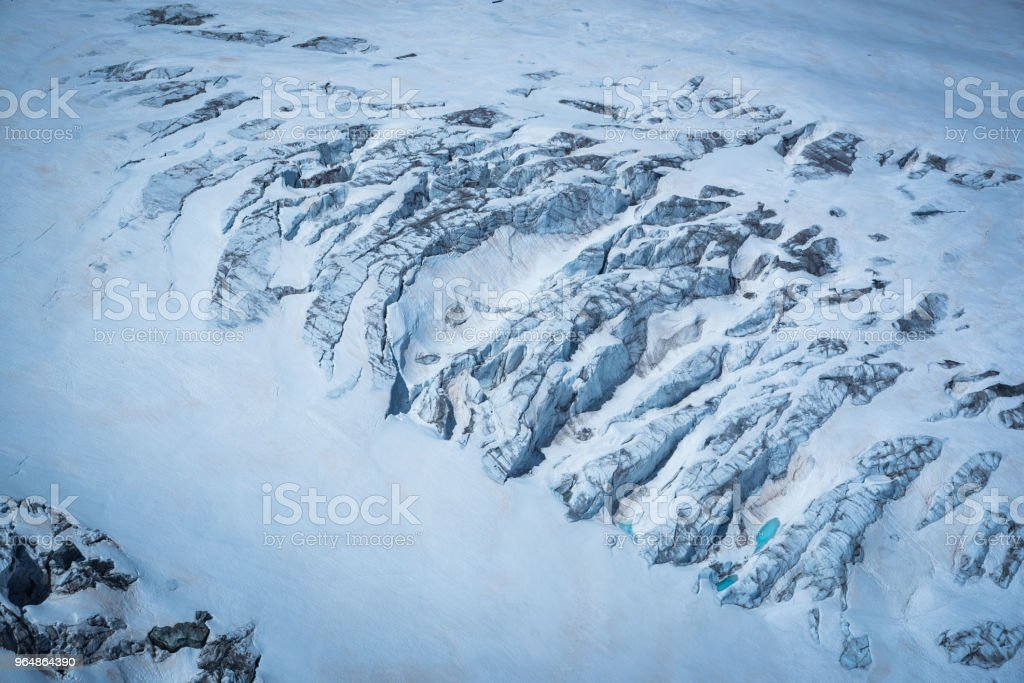 Iceberg Avalanche royalty-free stock photo