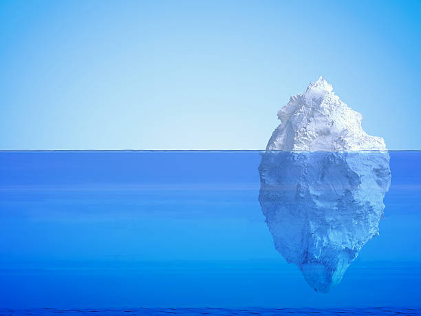 iceberg floating - iceberg stock photos and pictures