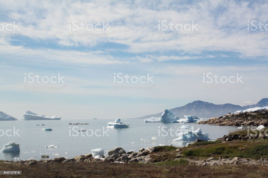 Iceberg, Greenland stock photo