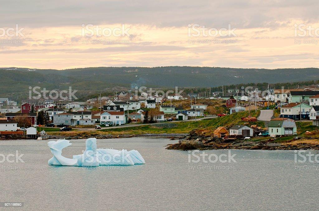 Iceberg in St. Anthony, Newfoundland