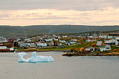 Iceberg in St. Anthony, Newfoundland