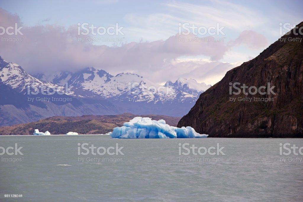 Argentino Gölü, Arjantin'de buzdağı - Royalty-free Argentina Gölü Stok görsel