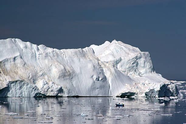 Iceberg in the Disco Bay, Ilulissat stock photo