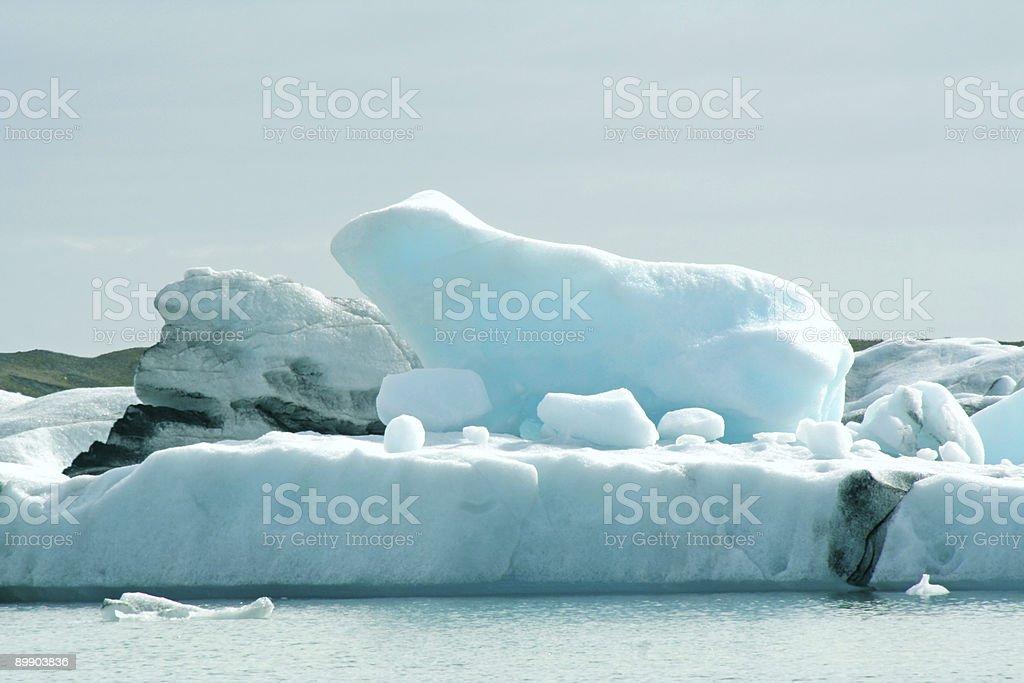 Iceberg Jokulsarlon - Iceland royalty-free stock photo