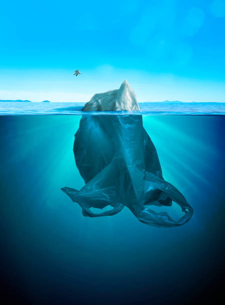 iceberg of trash - iceberg stock photos and pictures